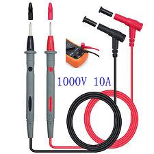 Universal 1Pair Digital MultiMeter Lead Test Probe Wire Voltage Meter Cable Pen