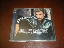 2 CD JOHNNY HALLYDAY A LA VIE A LA MORT - 23 TITRES