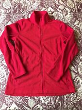Rohan Ladies Microgrid Stowaway Jacket - Size Small Red