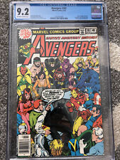 AVENGERS #181 CGC 9.2 OW/W PG 1979 MARVEL NEW LINE UP / 1ST SCOTT LANG ANT-MAN