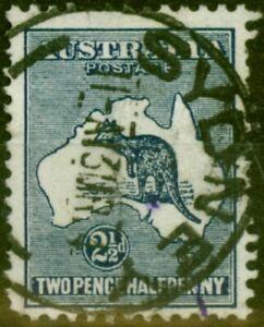 Australia 1913 2 1/2d Indigo SG4 Good Used