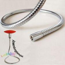 Lichthalterschlauch collo di Cigno, Ms-Cromato, Modellabile 13x900mm M10x1