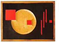 Art Postcard, Reliefbild (1922) by Erich Buchholz 79U