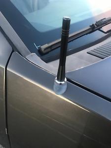 "4 inch "" Short Black Aluminum Antenna Mast for Jeep Grand Cherokee 2005-2010 New"