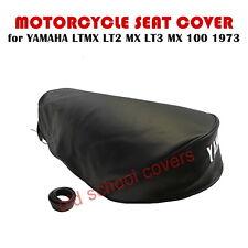 9334e332f10 Yamaha Ltmx Lt2 Mx Lt3 100 1973 Seat Cubierta con Blanco Logo Lt2mx Lt3mx
