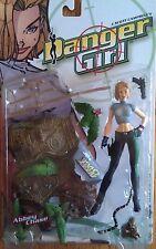 Danger Girl figures: Abbey, Sydney, Natalia & Maxim, complete Cliffhanger! toys