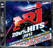 2 CD COMPIL 43 TITRES--NRJ HITS 2012--TELO/SHAKIRA/GUETTA/DEL REY/CRUZ/LMFAO...