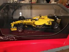 Formula 1 Jordan EJ13 Giancarlo Fisichella 1:18 Die Cast Car Model Hand Signed