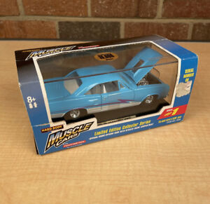 TOOTSIETOY MUSCLE CARS 1969 Blue Plymouth GTX 1:32 SCALE DIE CAST