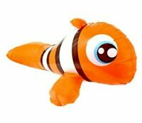 finding NEMO nemo NEW Inflatable Pool Animals Giant 27 in. Orange Fish float