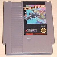 Tiger-Heli Helicopter chopper Nintendo NES Vintage original retro game cartridge