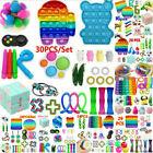 30X Neu Fidget Toys Sensory Toy Autismus Angst Stressabbau Spielzeug Set Kinder