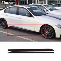 5D Kohlefaser Rock Aufkleber Streifen Aufkleber für BMW 3 4 5 Series F30 E60 E61