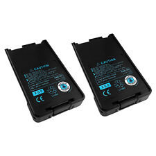 2 x  Li-Ion KNB-25A KNB-26N Battery for KENWOOD TK-2160 TK-2170 TK-3160 TK-3170