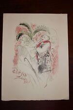 ✒ 1926 Gravure de Marcel VERTES pour Raymond HESSE L'âge d'or