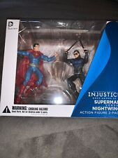 "Dc Collectibles Injustice 3.75"" - Superman vs Nightwing - New / Sealed"