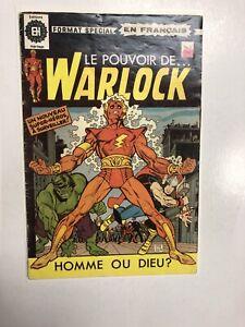 Le Pouvoir De Warlock (1971) # 1 ( VG) Heritage (reprints Warlock # 1 )