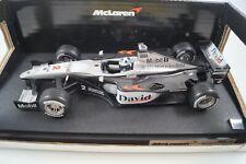 Hot Wheels Modellauto 1:18 Mercedes Mc Laren David Coulthard Nr. 26740 *in OVP*