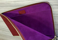 "Paul Smith Custodia per iPad in Pelle Saffiano 11 ""MacBook Air caso documento WALLET"