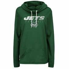 New York Jets Women's Majestic Speed Fly Cowl Neck Hoody XXL