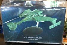 STAR TREK KLINGON BATTLE CRUISER (2009 movie) - eaglemoss new #22