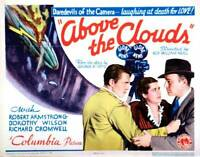 OLD MOVIE PHOTO Above The Clouds Poster Richard Cromwell Dorothy Wilson Robert 1