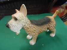 Great Collectible Cast Iron Scotty Schnauzer Dog Figure/Statue