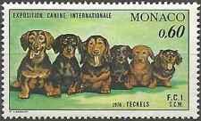 Timbre Chiens Monaco 1051 ** lot 18914