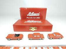 BH32-0,5# Schuco piccolo 1:90 01714 Set 2001: BMW 1500/507 + Volvo 544, OVP