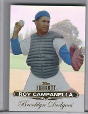 2011 TOPPS TRIBUTE #58 ROY CAMPANELLA REFRACTOR BROOKLYN DODGERS HOF 8166