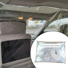 Plastic Car Taxi Divider Film Isolation Partition Transparent Protective Cover