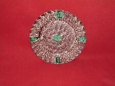 Staffordshire Creamware Whieldon Plate Green Dot Molded Border Ca. 1770
