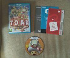 Captain Toad Treasure Tracker - PAL España, Nintendo Wii U, como nuevo