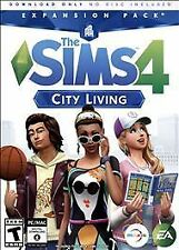 The Sims 4: City Living Expansion Pack (Digital DL) BRAND NEW & FACTORY SEALED!!