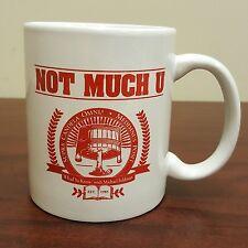 Not Much U Michael Feldman Humor Coffee Mug Whad'Ya Know
