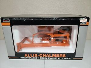Allis-Chalmers Model K Diesel Crawler w/ Blade SpecCast 1:16 Scale #SCT237 New!