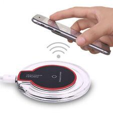 Clara Qi Inalámbrico Cargador Pad de Carga Rápida Samsung Galaxy Note 8 S8 iPhone X 8