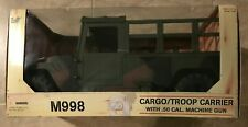 Ultimate Soldier M998 Cargo Troop Carrier 1/16 Scale w/ Machine Gun NEW in box