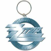 ZZ Top Circle Logo Schlüsselanhänger Keychain Official Merchandise - NEU