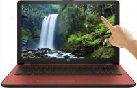 "HP 15.6"" Touch Screen Laptop Intel 2.3GHz DVD+RW 500GB HDD 4GB RAM Webcam - Red"