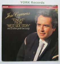 JOSE CARRERAS - Tonight & 15 Other Great Love Songs - Ex Con LP Record Philips