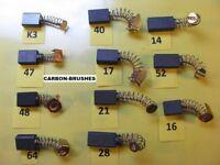 JCB CARBON BRUSHES JCB RANGE OF POWER TOOLS ,TRIMMER,DRILL,SAW