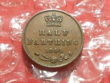 More details for 1844 victoria half farthing - e over n in regina.