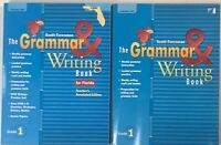 1st Grade 1 Scott Foresman Reading Street Grammar & Writing Student & Teacher Ed