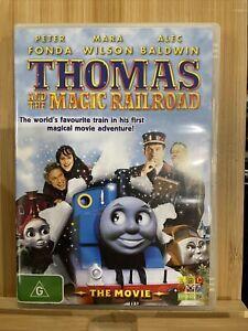 Thomas and the magic railroad RARE region 4 dvd