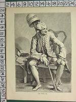C1875 Stampa ~ John Wilkes ~ William Hogarth