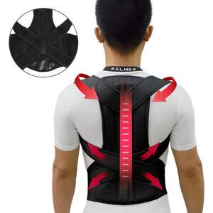Adjustable Posture Corrector Belt Corset Back Brace Support ShoulderStraightener