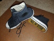 2e8f9ad4c933 Converse x John Varvatos navy Multi Laced All Star CT Eyelet High Tops VERY  RARE