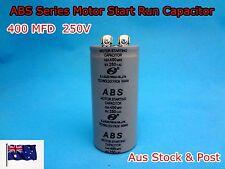 ABS Series 250VAC 400MFD Motor Start Run Capacitor 2 Terminal (G149) - Brand New