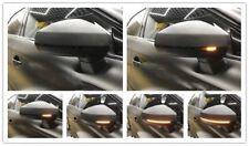 Audi A3 S3 RS3 8V 2013-2018 Carbon Fibre wing mirror Covers & Dynamic Indicators
